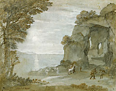 <i>Coast View with Perseus and the Origin of Coral</i>